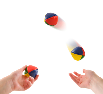 Juggling Concept